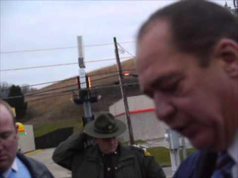 W.Va. Gov. Earl Ray Tomblin on Dec. 11, 2012 gas line explosion