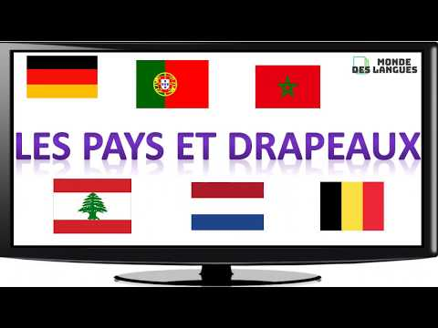 Apprendre Les Noms Des Pays Et Drapeaux