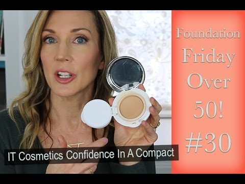 Foundation Friday Over 50 ~  IT Confidence In A Compact ~ #30