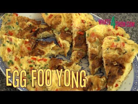Egg Foo Yong / Yung / Young. How to Make Classic Egg Foo Yong. Chinese Foo Yong.