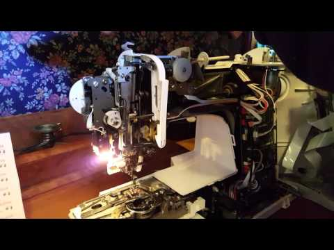 How to Dismantle & Clean/Oil a Brother Embroidery Sewing Machine