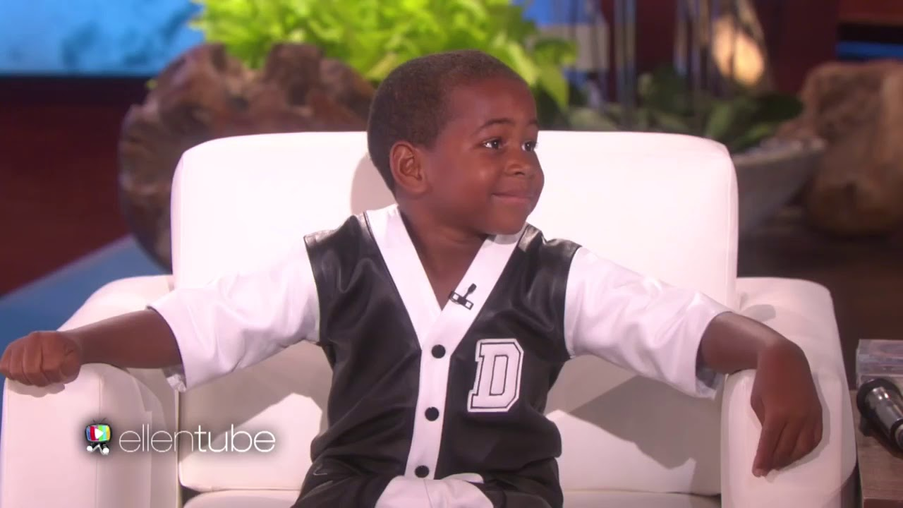 7 year old kid raps 21 savage on the ellen show youtube 7 year old kid raps 21 savage on the