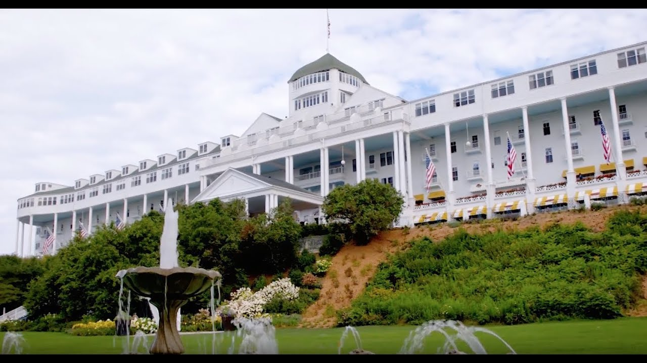Albion College And The Grand Hotel Mackinac Island