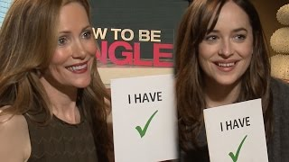 "Never Have I Ever w/ ""How to Be Single"" Cast - Leslie Mann, Dakota Johnson Talk Sexting & More"