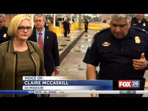 KNPN: McCaskill Takes Trip to U.S.-Mexico Border as Ranking Member of Homeland Security Committee