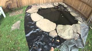 Making A Cheap Pond In Your Yard