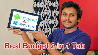 Best Budget Tab with Dual OS Android & Windows 10 | Unboxing & Review