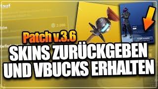 RETURN SKIN pour VBUCKS! - 'NOUVEAU' GRANÉ ! 🔥 Fortnite Battle Royale (anglais) - Patch V.3.6