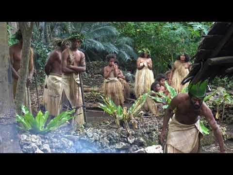 Ekasup cultural Village Port Vila Vanuatu 4K