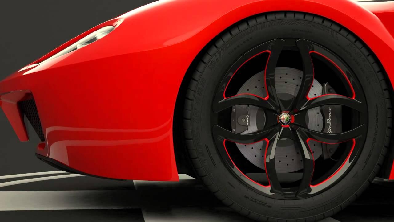 "Alfa Romeo 4C >> Alfa Romeo Concept ""2020"" - YouTube"