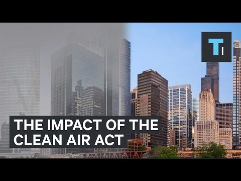 How U.S. cities would look without the Clean Air Act