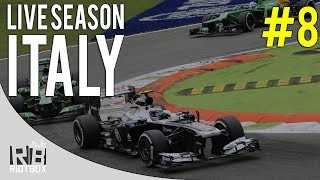 F1 2014 Live Season - Winter Testing Race 8 - Italy [F1 2013 Gameplay / PC League]