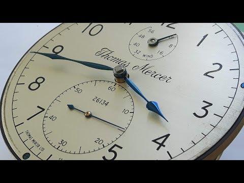 Marine Chronometer - Thomas Mercer - Repaire of the balance stuff