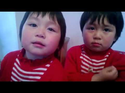 Кыргызстан эгиз кыздар