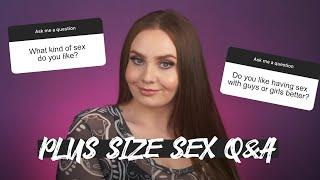 Plus Size Sex Q&A Pąrt 3 | Hayley Herms