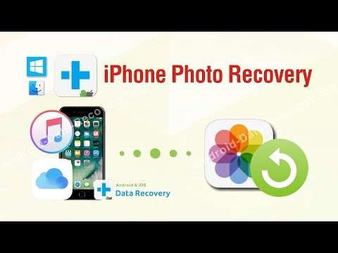 iPhone Photo Recovery - How to Recover Deleted Photos from iPhone 7