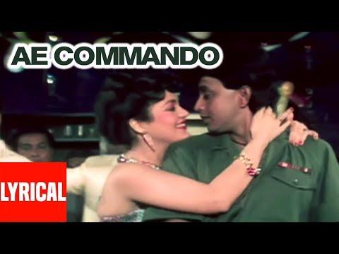 Ae Commando Tumhein Dil Ki Lyrical Video | Commando | Bappi Lahiri | Mithun Chakraborty, Mandakini