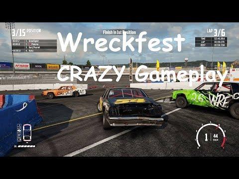 WreckFest is a CRAZIEST Game |