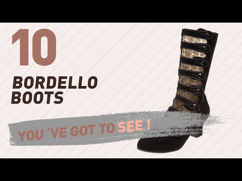 Bordello Boots For Women // New & Popular 2017