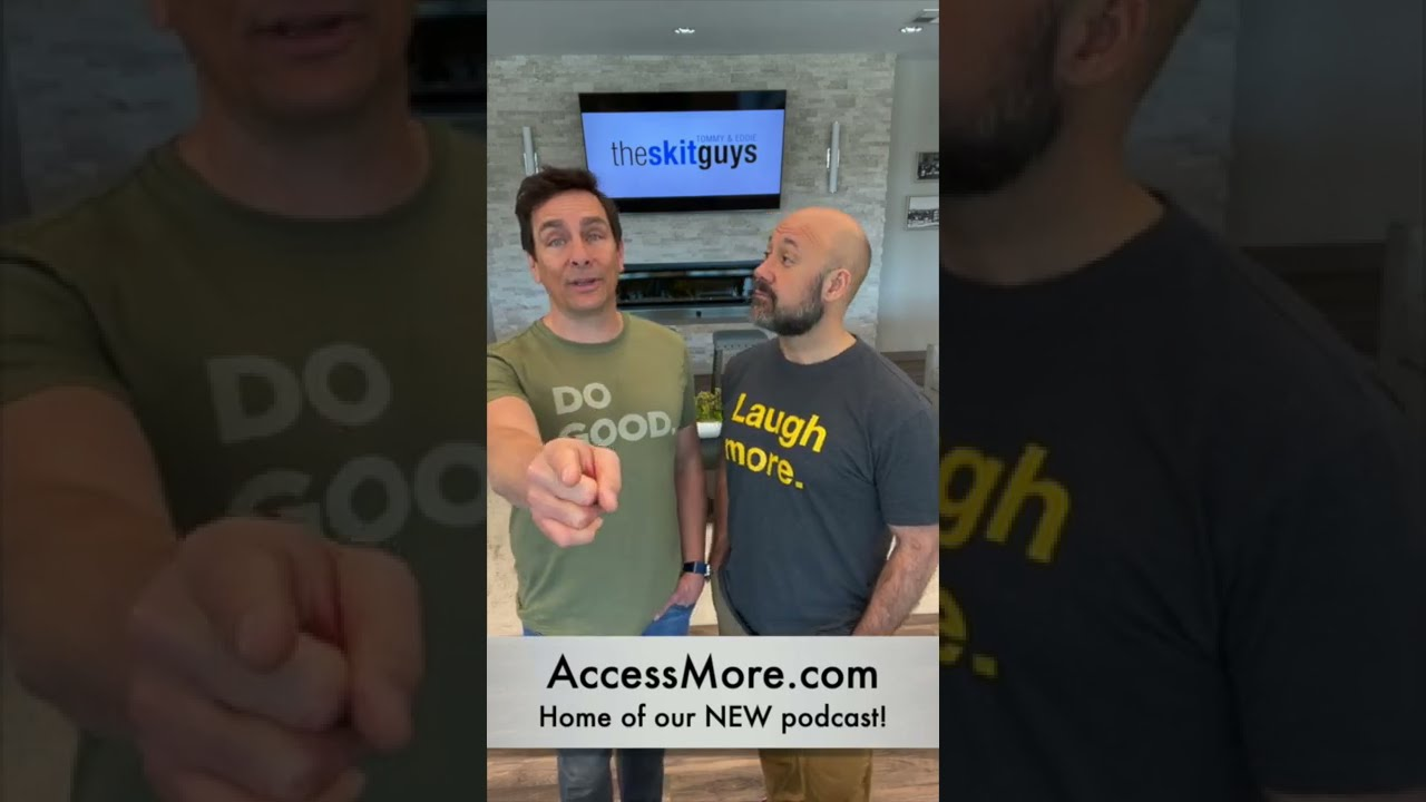 New Podcast: Laugh More!