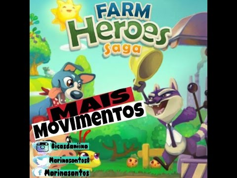 farm Heroes saga...ganhe ouro!
