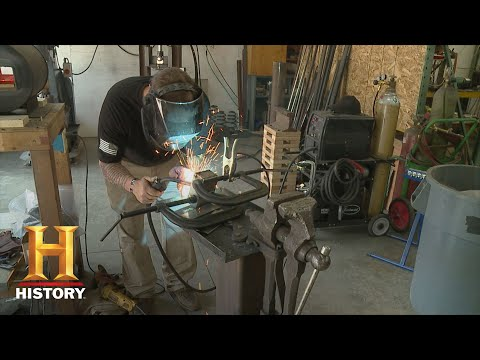 Forged in Fire: Home Forge Tours - Chris and Jeremiah (Season 4) | History