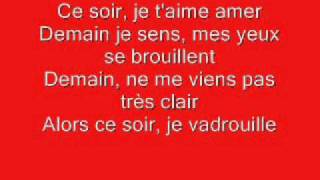 Louise Attaque - Tes Yeux Se Moquent (Lyrics / Paroles)
