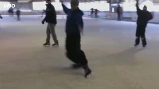 Приколы люди на льду смешные падения