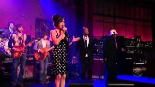 Amy Winehouse   Rehab Live on David Letterman   YouTube
