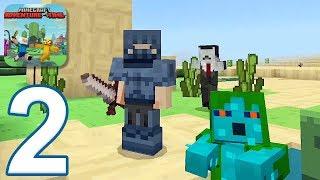 Minecraft PE: Adventure Time Survival - Gameplay Walkthrough Part 2 (iOS, Android)