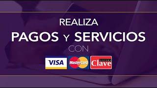 Ya puedes pagar tu matrícula y servicios con tarjetas Clave, Visa o Mastercard.