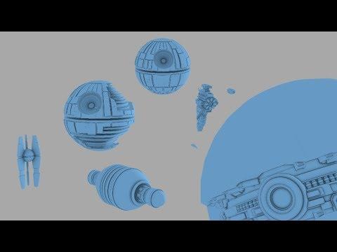 Superweapon Size Comparison -- Star Wars Legends and Canon
