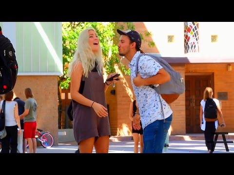 Picking Up Girls Public Experiment