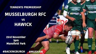 HIGHLIGHTS | Hawick vs Musselburgh - Tennents Premiership 2019/20