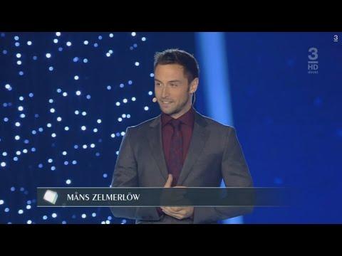 Måns Zelmerlöw Announces Nominees for Entertainment Program of the Year - Kristallen 2015, TV3.