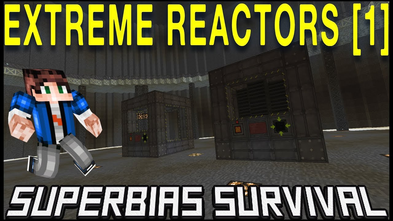 Extreme Reactors Mod 1 12 Tutorial: Cooling & RF Rates