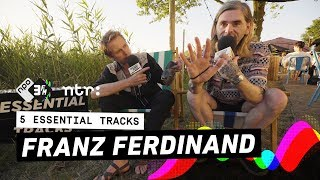 How did Franz Ferdinand discover 'Space Invaders Are Smoking Grass'? | 5 Essential Tracks | 3FM