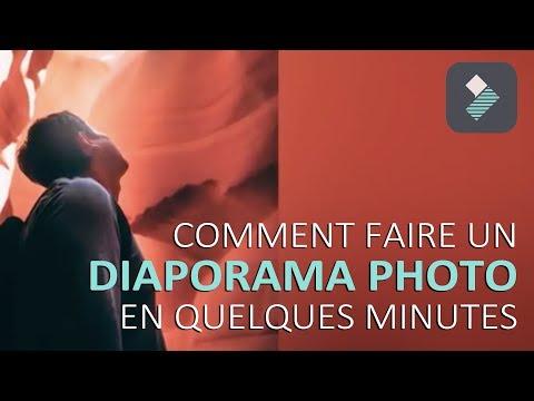Comment créer un diaporama photo en quelques minutes ! || TUTO FILMORA