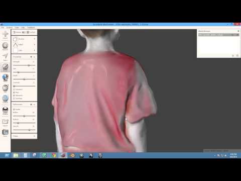 MeshMixer Repair Demo (Autodesk Meshmixer)