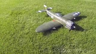 e flite p 47d thunderbolt bnf basic maiden flight