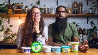 Can We Find The Best Vegan Sour Cream? |  Vegan Sour Cream Taste Test