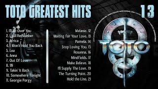Toto Greatest Hits Playlist  - Toto Best Album  ( HQ )