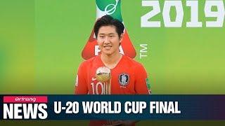 S. Korean football team finishes runner-up at FIFA U-20 World Cup