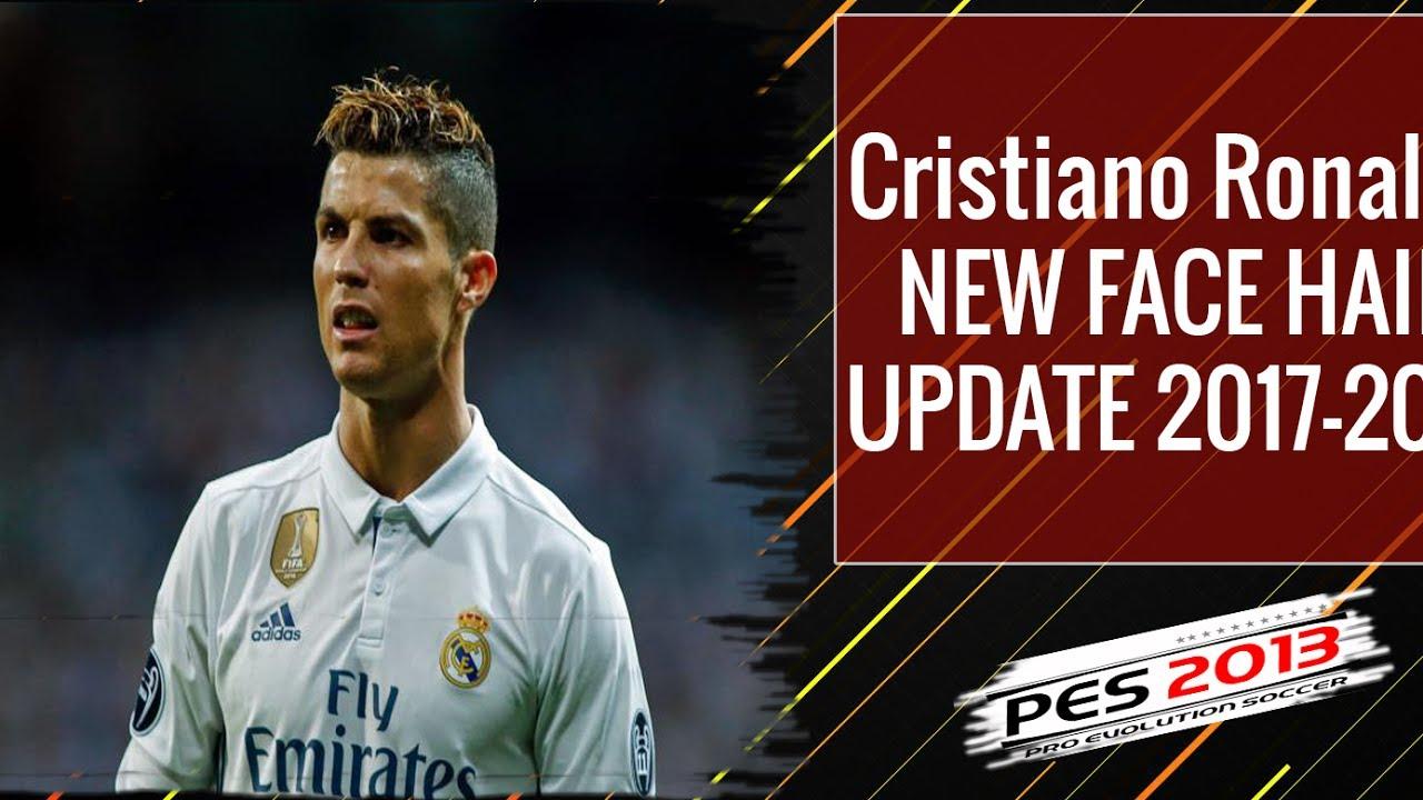 PES Cristiano Ronaldo New Face Hair YouTube - Download hair cristiano ronaldo pes 2013