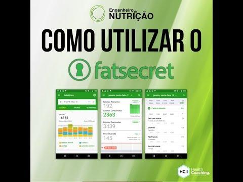 Aplicativo FatSecret - Explicação e Configuração