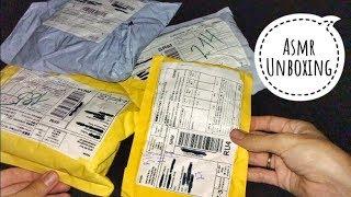 ASMR Unboxing 4 посылки с AliExpress Распаковка с шёпотом
