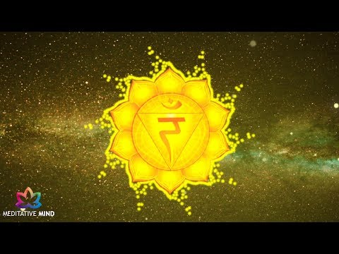 Solar Plexus Chakra Healing Music  | Super Powerful Self Confidence  | Chakra Meditation Music