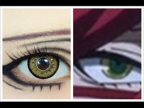 grell sutcliff tutorial anime eye makeup 76 youtube