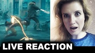 Wonder Woman Gotham TV Spot REACTION