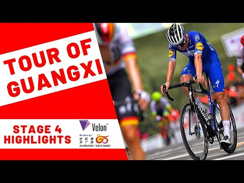 Tour of Guangxi 2019: Stage 4 Highlights